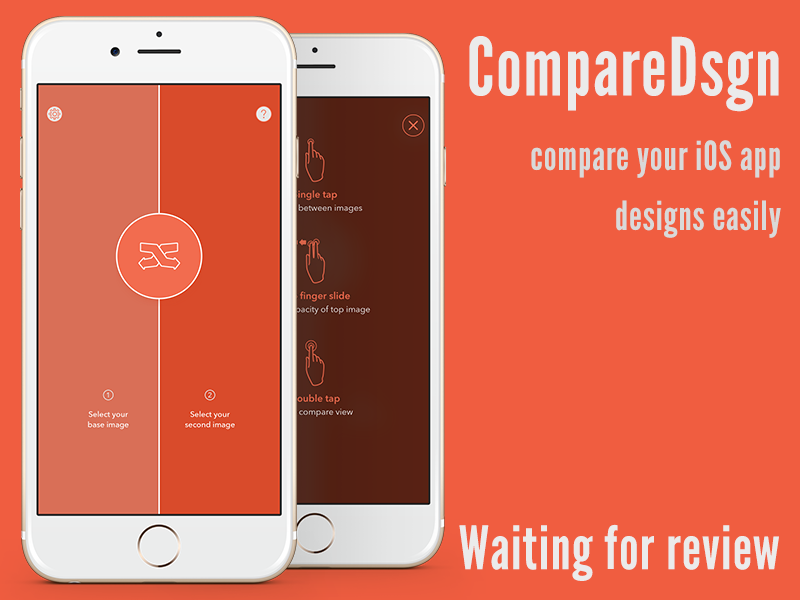 Compare My Designs App Store by Szab on Dribbble
