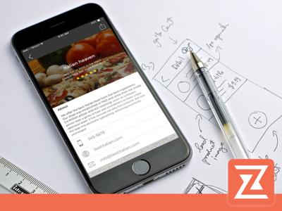 Store Locator iOS App new UI