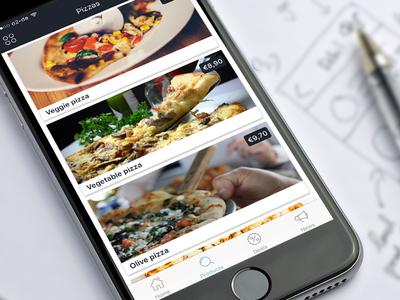 Mystore iOS app template design
