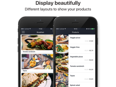 MyStore iOS App Preview