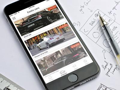 Store iOS app template alternation