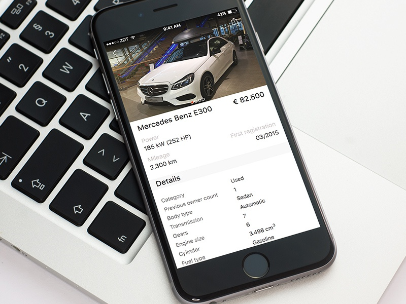 store ios app template car sale edition by szab dribbble dribbble