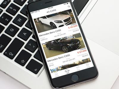 Dealership iOS app template