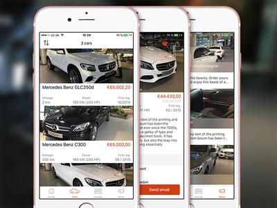 Car Dealer iOS App