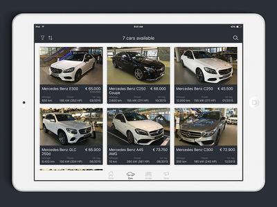 Car Dealer iOS iPad version
