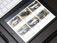 Cars iPad app - gallery