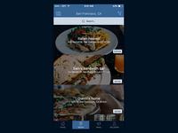 Store Locator iOS app - new design