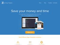 Zapp homepage full