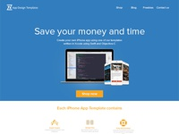 Zappdesigntemplates.com new homepage design