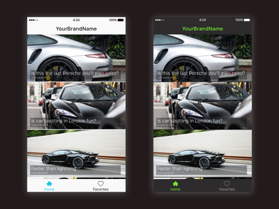New iOS app template design app mobile iphone template ux ui ios