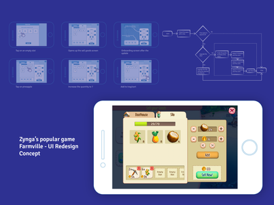 Farmville 2 - UI Redesign Concept