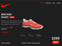Online shopping ui design