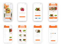 A fruits delivery app