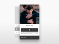Music Player UI (Inspired by Apple Music)