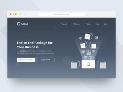 Product Landing Page Design figma sketch ux ui landing page ui design clean web design