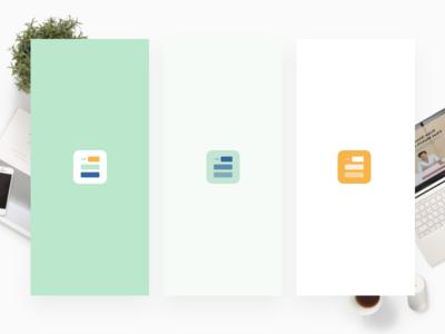 Productivity App Icon and Splash Screen iconography icon design sketch ui clean design ios mobile design splash screen icon