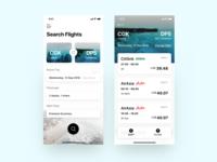Flight Booking App UI (Mobile Design)