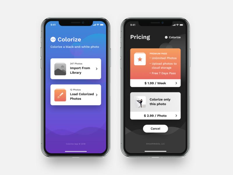 iOS App Design Concept iphone x card clean design ios figma sketch mobile design ui design ux