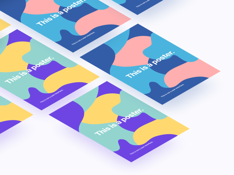 This Is Poster Project figma clean typography branding design print design poster design poster illustration