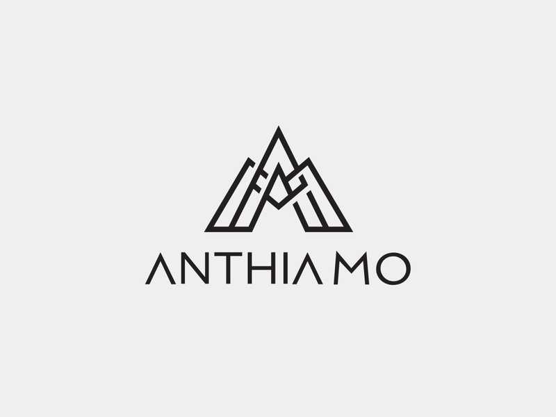 Anthia Mo linestyle abstract a logo am symbol a logo am symbol