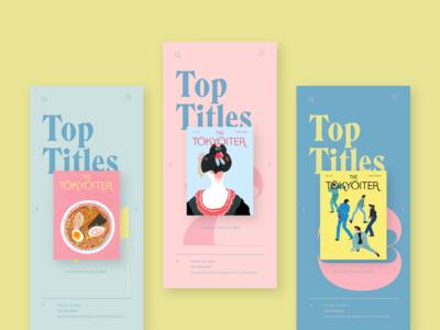 book club webdesign branding appdesign typography mobi brand mobi ui design app user interface