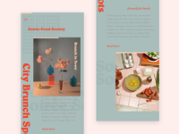 Soiree Food Society Mobile Version 2