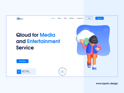 Qloud - WHMCS, Cloud Computing, Apps & Server WordPress Theme wordpress themes it services it solutions it solutions wordpress theme whmcs wordpress theme cloud computing wordpress theme