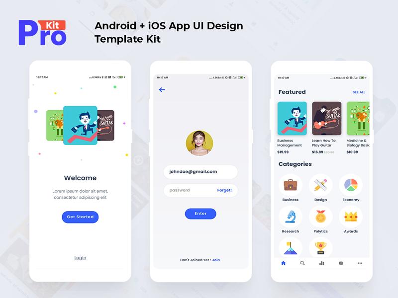 News app android material design #materiadesign #news.