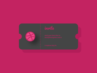 1 Dribbble Invites Giveaway