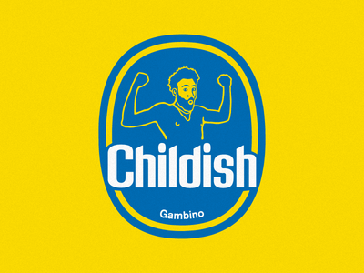 Chiquita Gambino illustration vector gambino childish childish gambino