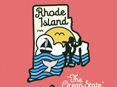 Rhode Island Day Badge