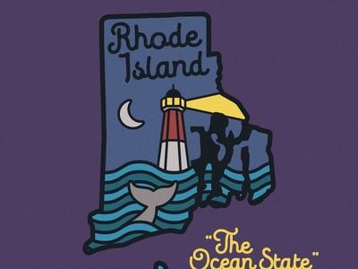 Rhode Island Night Badge