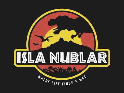 Isla Nublar Badge