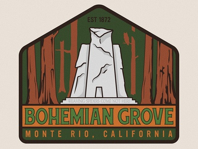 Bohemian Grove Badge