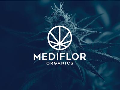 Mediflor Organics branding design weed mediflor marijuana cannabis branding cannabis design cannabis logo design logodesign design identity branding logo