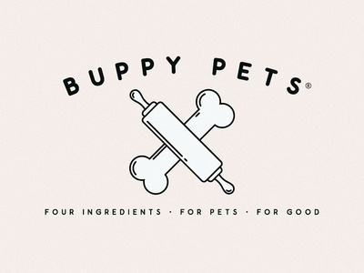 Buppy Pets healthy eating packaging design packaging dog treats dog logo pet treats pet logo identity design branding design branding and identity logo design logo