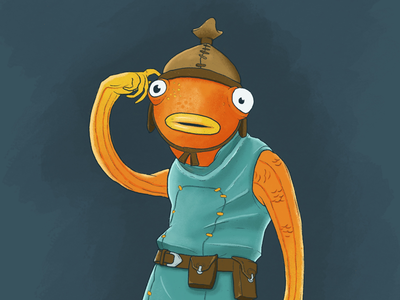 Fishstick apple pencil fish fishstick fortnite ipad pro ipad illustration