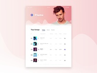 Music Player | Flume