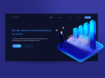 Landing Page | Receivco
