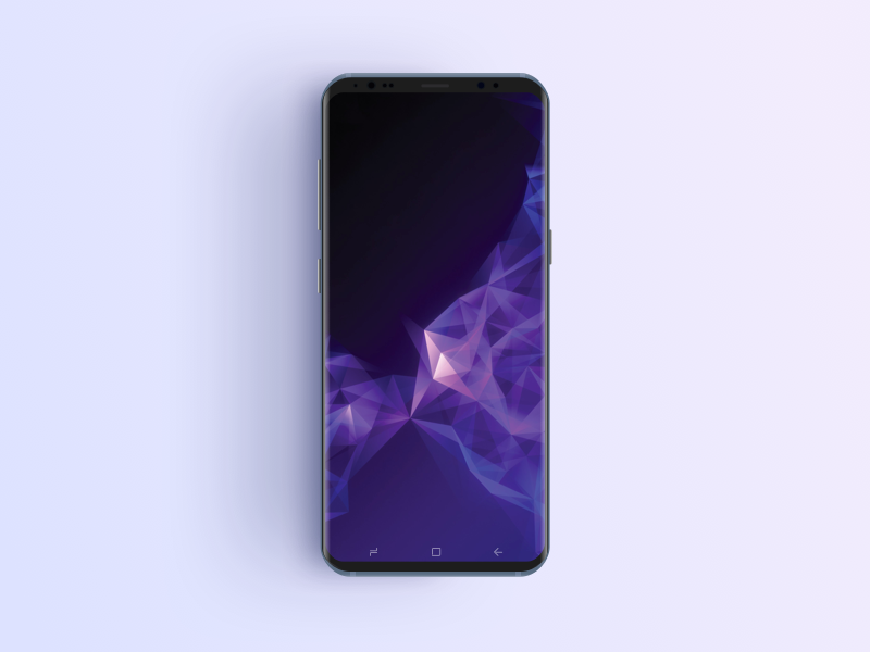 Free Samsung S9 Phone Mockup ui ux android samsung marketing application mobile template sketch download mockup samsung s9