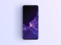 Free Samsung S9 Phone Mockup