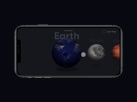 Planet Apps - Dark Mode