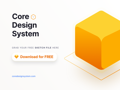 Core Design System Free Download Sketch File