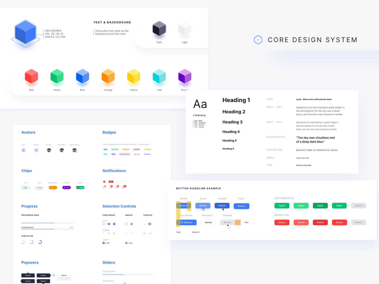 Core Design System Free Download Sketch File By Ryan Sael On Dribbble