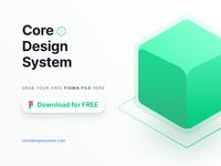 Core Design System Free Download Figma File