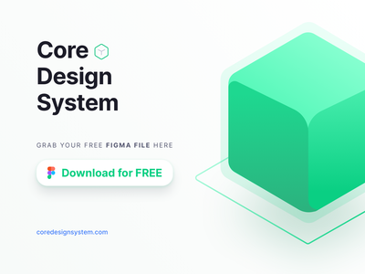 Core Design System Free Download Figma File ui kit ui design ux ui figma sketch mockup app mobile free download design freebies design system atomic atomic design