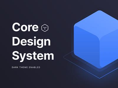 Core Design System Free Download Figma File ui kit ui design ux ui figma sketch mockup app mobile free download design freebies design system atomic atomic design