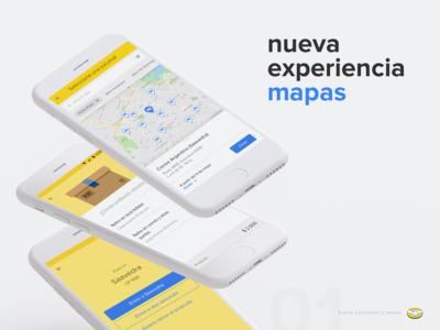 Nueva experiencia en mapas