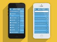 PUT.OUT (put.io x-platform mobile app) Color 1/8