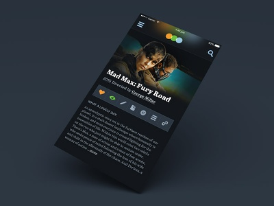 Letterboxd App Concept reviews film iphone 6 app interface ui movies letterboxd